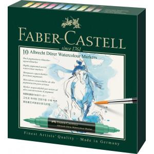 Boîte de 10 marqueurs aquarellables Albrecht Dürer - Faber-Castell