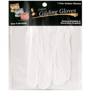 Gants coton blanc