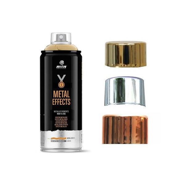 Bombe de peinture effet chromé - MTN PRO - Montana