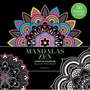 BLACK PREMIUM MANDALAS ZEN - Livre