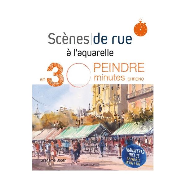SCENES DE LA RUE A L'AQUARELLE -Livre