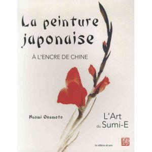 PEINTURE JAPONAISE A L'ENCRE DE CHINE - Livre