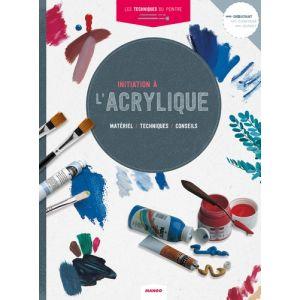 INITIATION A L'ACRYLIQUE - Livre