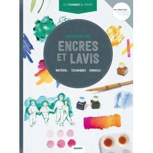 INITIATION AUX ENCRES ET LAVIS - Livre