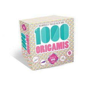 1000 ORIGAMIS - Livre
