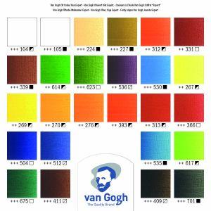 Nuancier coffret Huile fine Van Gogh Expert