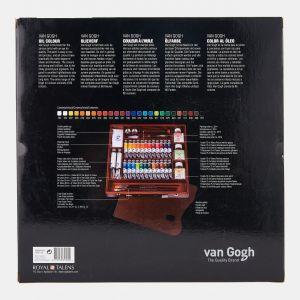 Coffret artiste Huile fine Van gogh Expert Talens