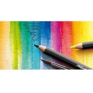 Crayon aquarellable museum et pinceau