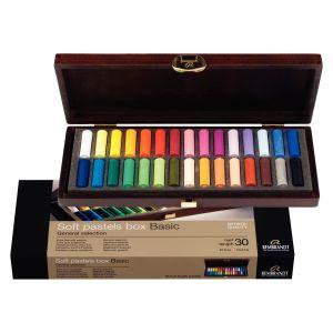 Coffret pastels Rembrandt - 30 demi-pastels
