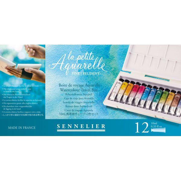 La petite aquarelle version 12 tubes de Sennelier