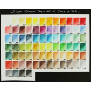 Nuancier crayon aquarellable Museum Caran d'Ache