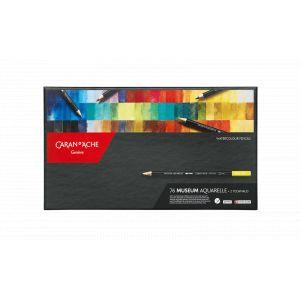 Boîte complète de 76 crayons aquarellable Museum Caran d'Ache