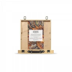 coffret en bois d'huile extra-fine Lefranc Corot