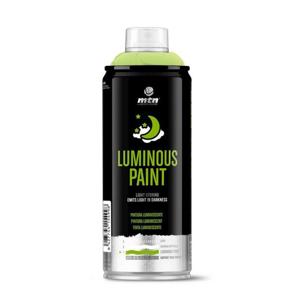 Bombe de peinture Phosphorescente - Montana