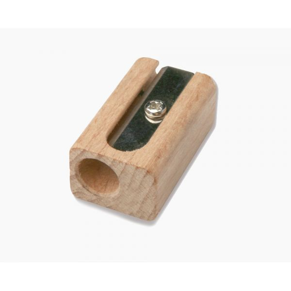 Taille-crayon en bois