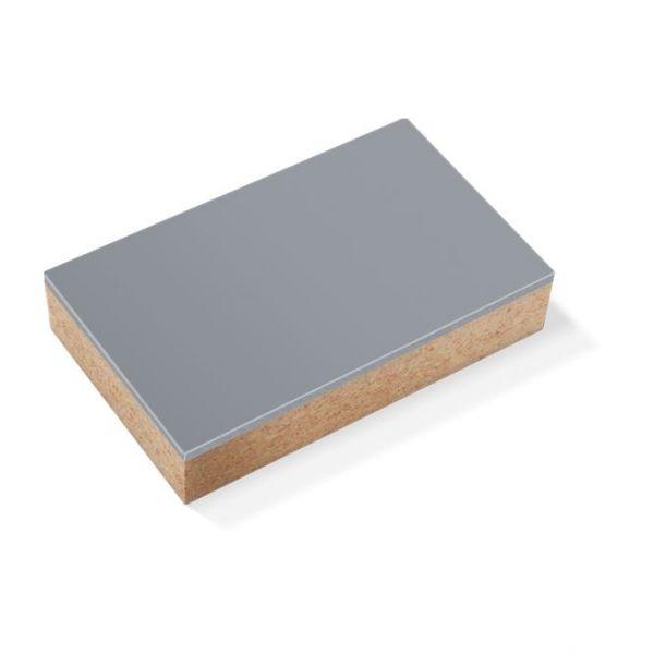 Plaques Linoléum sur bloc en bois