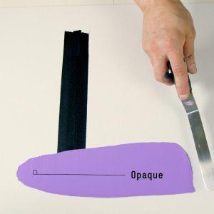 Opacité de la peinture Gouache Acrylique - Liquitex