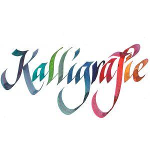 Calligraphie avec l'encre d'écriture Schreibtinte série 40 Rohrer