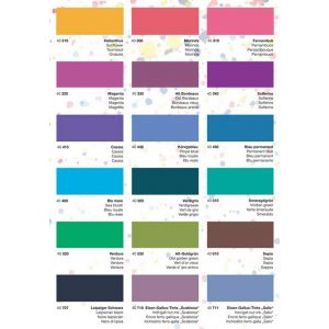 Nuancier couleurs Schreibtinte série 40 - Rohrer