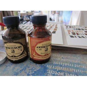 Encre traditionnel à base de pigment Rohrer