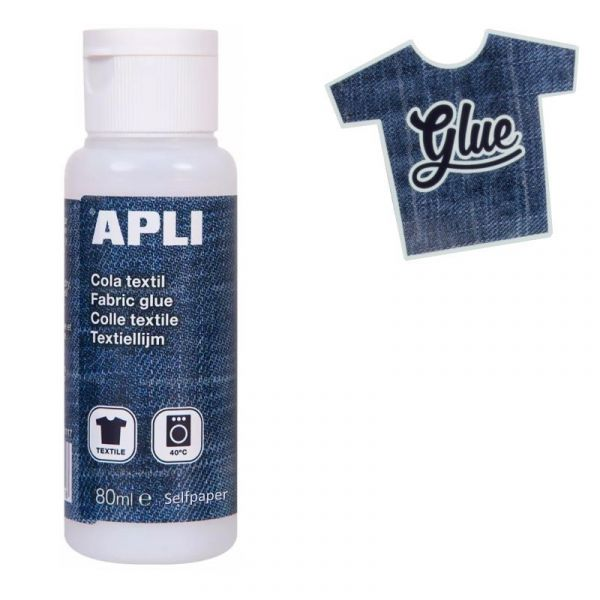 Colle pour tissu et textile Apli