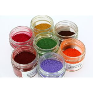 50 couleurs de pigments purs