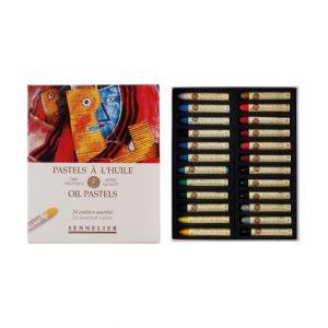 Boîte de 24 pastels à l'huile Sennelier