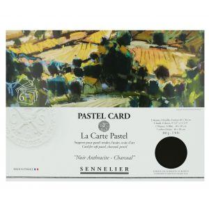 Pochette de 6 Pastel Card noirs Sennelier