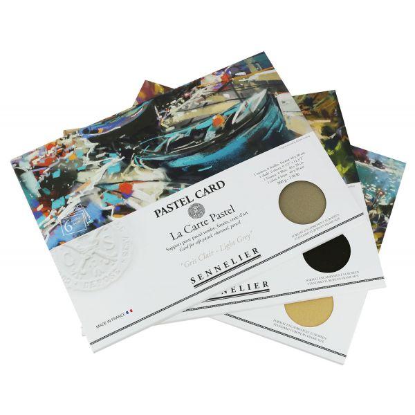 Pochette de 6 Pastel Card - 30x40cm - Sennelier