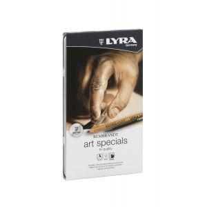 Boîte en métal de 12 crayons esquisse Lyra