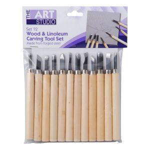 Set 12 outils linogravure et sculpture