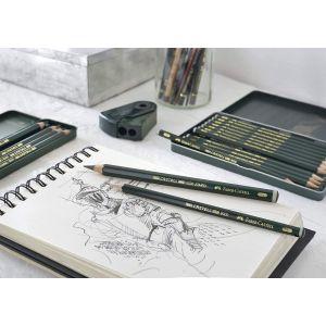 Dessin aux crayons graphite Faber-Castell