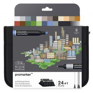 Set architecte 24 Promarkers