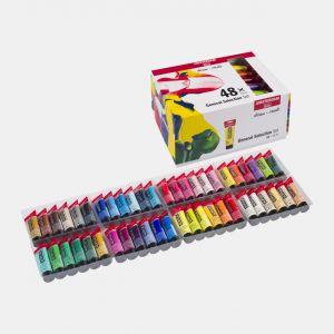 Set 48 tubes de peinture acrylique Amsterdam 20ml