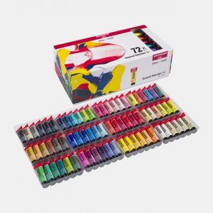 Set 72 tubes de peinture acrylique Amsterdam 20ml