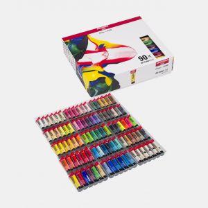 Set 90 tubes de peinture acrylique Amsterdam 20ml