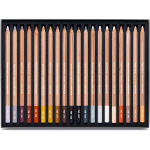 assortiment crayons pastels Caran d'Ache