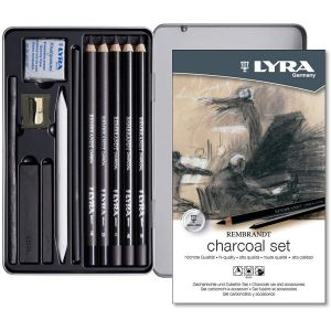 Set fusain et accessoires - Lyra