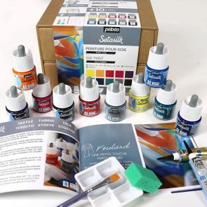 Coffret atelier Peinture sur soie - Pébéo