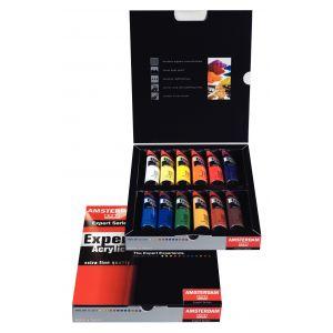 12 couleurs de 20ml Amsterdam Expert
