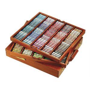 Coffret bois 250 Pastels à L'écu - Sennelier