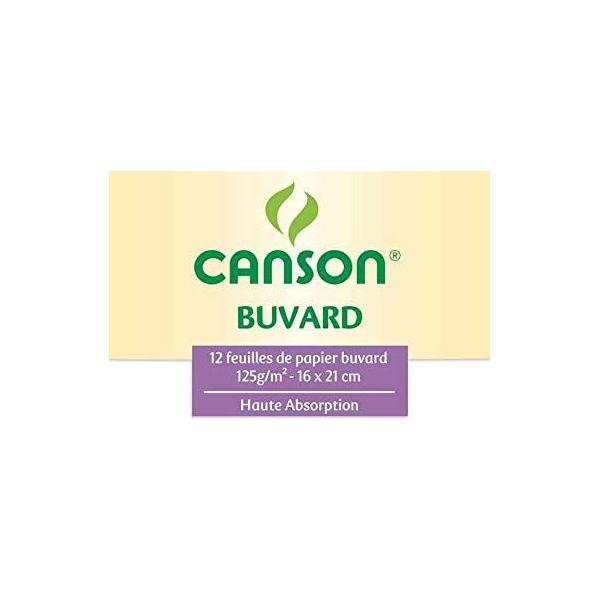 Pochette de papier buvard - 16x21cm - Canson