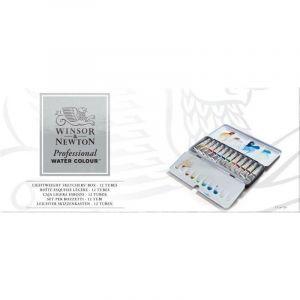 Boîte aquarelle extra-fine Winsor & Newton - 12 tubes