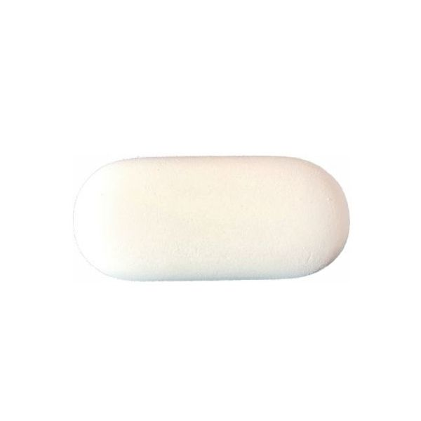 Gomme blanche galet