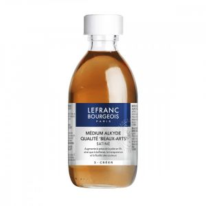 Médium alkyde 250ml - Lefranc & Bourgeois