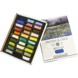 30 demi-pastels surfins Sennelier spécial Plein Air