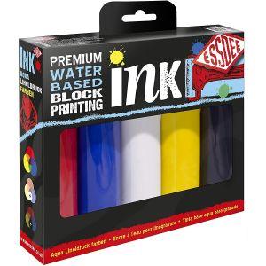 Pack d'encre pour linogravure - couleurs primaires - Essdee