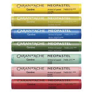 Gamme de 96 pastel à l'huile Neopastel - Caran d'Ache
