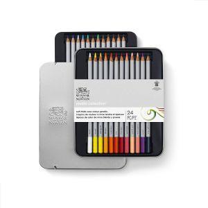 Boîte de 24 crayons de couleur - Winsor & Newton