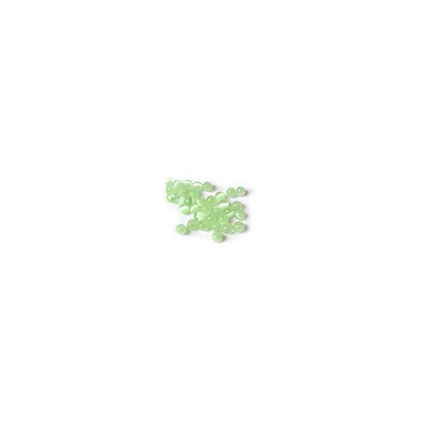 Perle Œil de Chat - Vert
